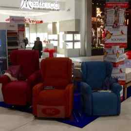Esposizione centro commerciale Maremà
